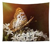 Anartia Jatrophae - White Peacock Butterfly  Tapestry