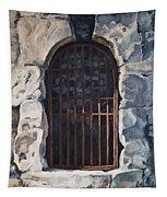 Ancient Door Tapestry