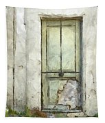 Ancient Doorway Rome Italy Pencil Tapestry