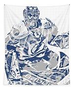Andrei Vasilevskiy Tampa Bay Lightning Pixel Art 2 Tapestry