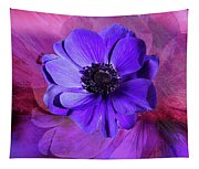 Anemone In Purple Tapestry