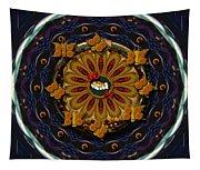 Angel Flower In The Sky Tapestry