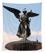 Angel Of The Waters Pigeons Tapestry