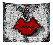Angel Wings Brings Love And Peace Tapestry