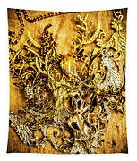 Animal Amulets Tapestry