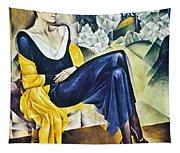 Anna Akhmatova (1889-1967) Tapestry