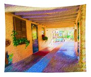 Anna Maria Elementary Office Hallway C130662 Tapestry