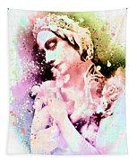 Anna Pavlova Whimsical Ballerina Tapestry
