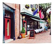 Annapolis Md - Restaurant On State Circle Tapestry