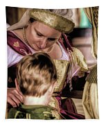Anne Of Cleves With Prince Edward Tapestry