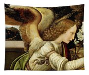 Announcing Angel, Detail From Annunciation Tapestry