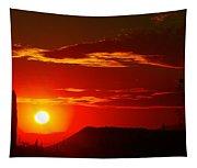 Another Beautiful Arizona Sunset Tapestry