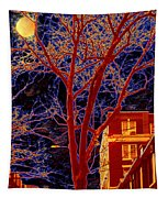 Another Brooklyn Night Tapestry