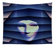 Another Face In The Crowd Tapestry