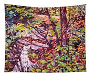 Another Look At Five Mile Mountain Tapestry