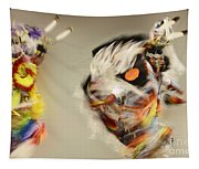 Pow Wow Another World Another Time Tapestry