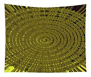 Ant Nest Abstract Fabric Design # 2 Tapestry
