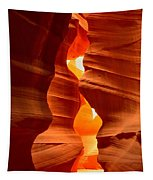 Antelope Canyon Candle Tapestry