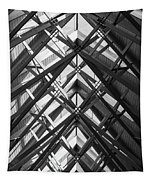 Anthony Skylights Grayscale Tapestry