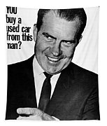 Anti-nixon Poster, 1960 - To License For Professional Use Visit Granger.com Tapestry