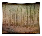Antique Amber Golden Woods Tapestry
