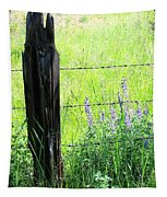 Antique Fence Post Tapestry