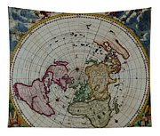 Antique Map Vintage Very Stylish Piece Tapestry