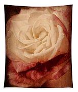 Antique Rose - In Full Bloom Tapestry