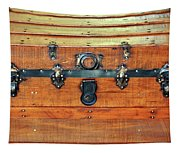 Antique Trunk Tapestry
