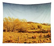Antique Weathered Countryside Tapestry