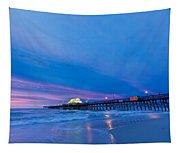 Apache Pier At Sunrise Tapestry