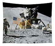 Apollo 15: Jim Irwin, 1971 Tapestry
