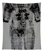 Apollo Space Suit X-ray Tapestry