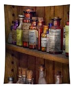 Apothecary - Inside The Medicine Cabinet  Tapestry