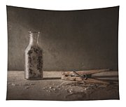 Apothecary Bottle And Clothes Pin Tapestry