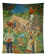 Apple Industry Tapestry