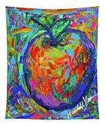 Apple Splash Tapestry