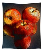 Apples And Mirrors Tapestry