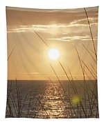April Beach Tapestry