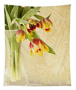 April Flowers Tapestry