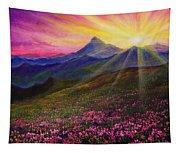 April Sunset Tapestry
