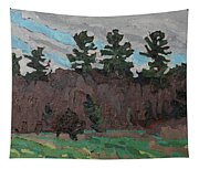 April White Pine Forest Tapestry