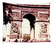 Arc De Triomphe 1955 Tapestry