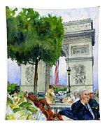 Arc De Triomphe Tapestry