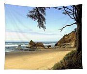 Arcadia Beach Tapestry