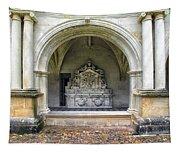 Arch At Fontevraud Abbey  Tapestry