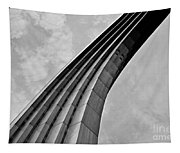 Arch In Black And White Tapestry