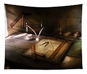 Architect - The Drafting Table  Tapestry