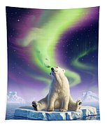 Arctic Kiss Tapestry