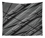 Aria Hotel Canopy Abstract Tapestry
